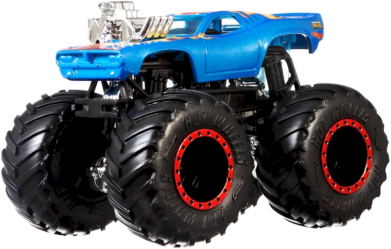 Hot Wheels Monster Trucks 1 64 2 Pack Muscle Car Shop Hot Wheels Cars Trucks Race Tracks Hot Wheels