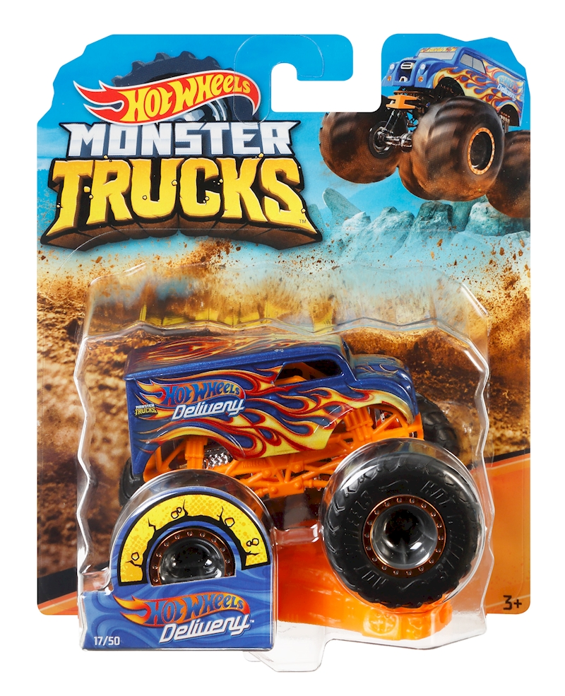 Monster Trucks 1:64 Dairy Delivery- Shop Hot Wheels Cars ...