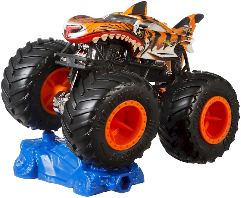 Hot Wheels Monster Trucks 1 64 Shark Wreak Shop Hot Wheels Cars Trucks Race Tracks Hot Wheels