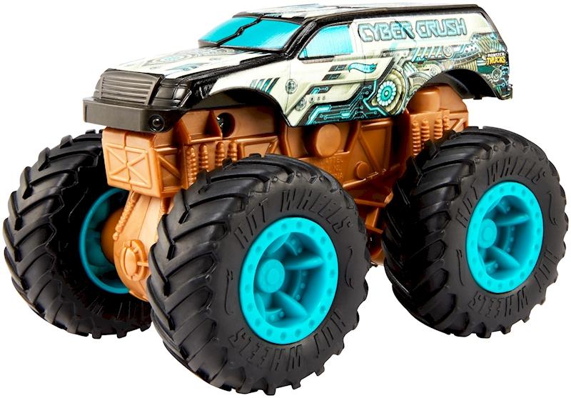 Hot Wheels Monster Trucks 1 43 Cyber Crush Shop Hot Wheels Cars Trucks Race Tracks Hot Wheels