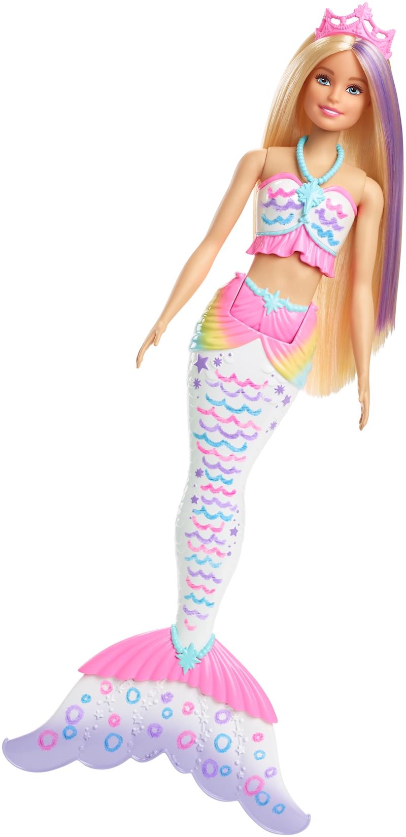 Barbie barbie sir ne couleurs magiques - Barbie sirene magique ...