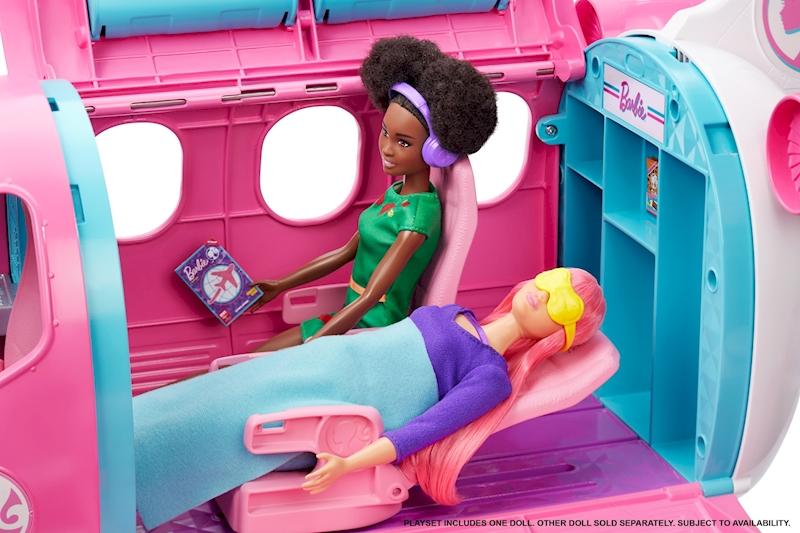 GJB33 57133643 Barbie Reise Traumflugzeug mit Puppe