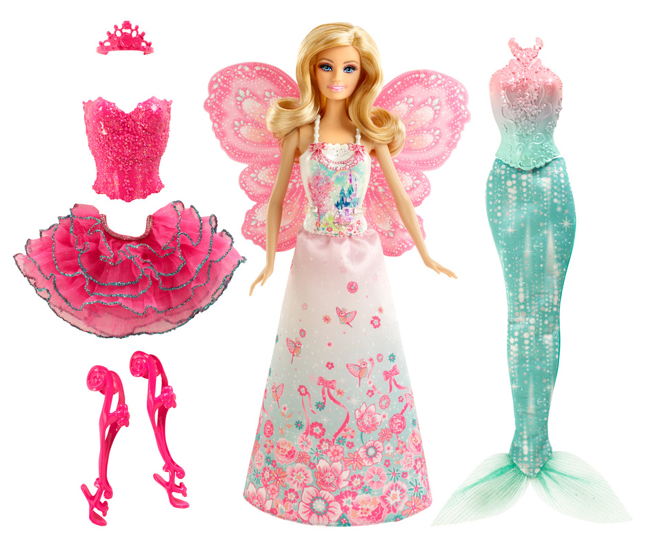 Dress Up: BARBIE® Fairytale Dress Up Doll