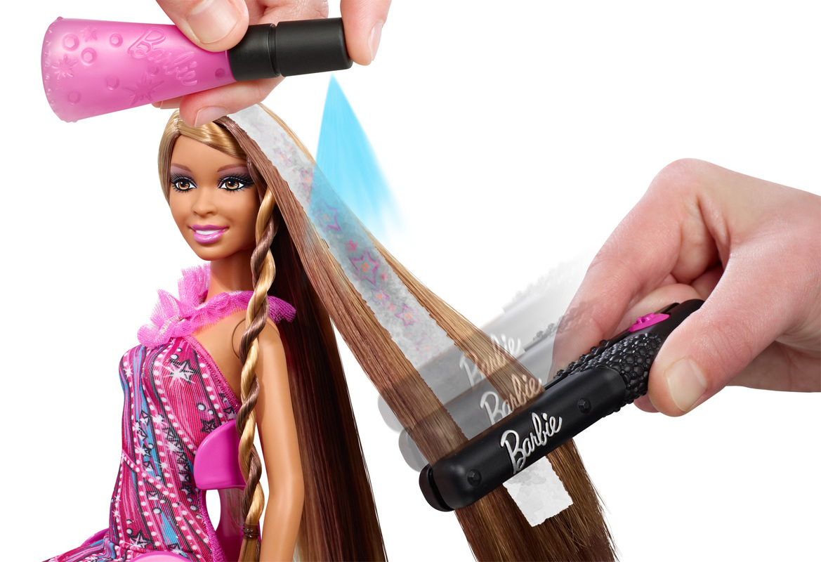 Barbie Hair Tattoos Doll African American