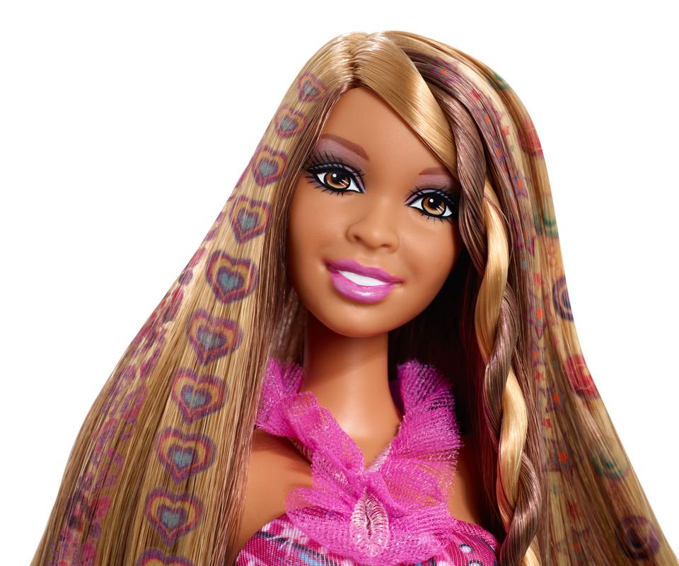 BARBIE® Hair Tattoos™ Doll - African American