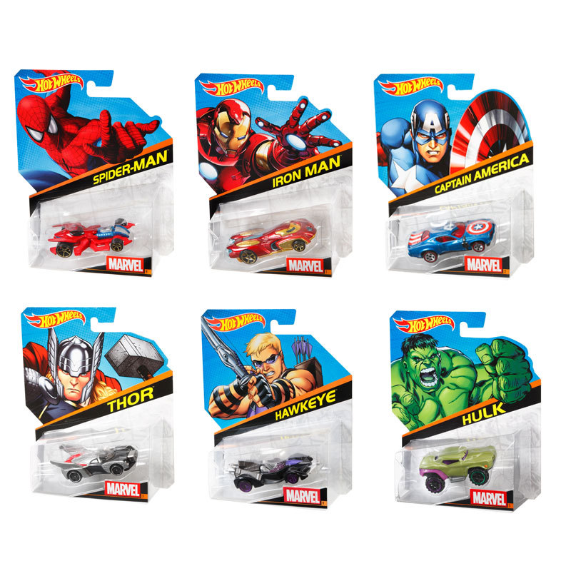 164 marvel character car assortment shop hot wheels cars trucks race tracks hot wheels