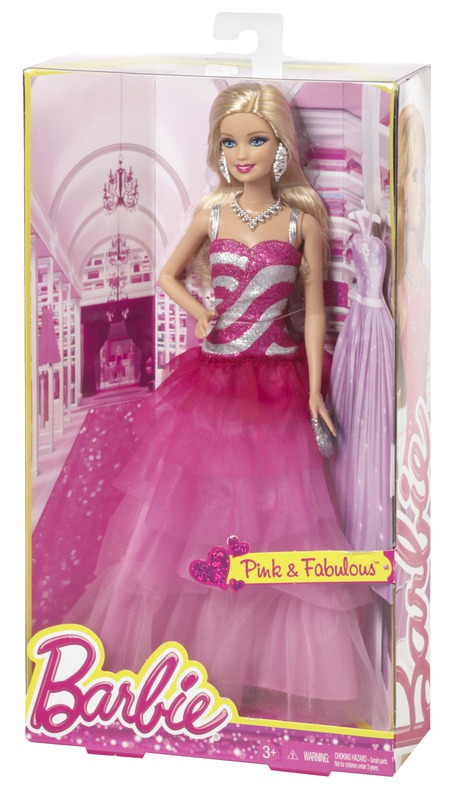 BARBIE® Pink & Fabulous™ Doll - Ruffle Gown