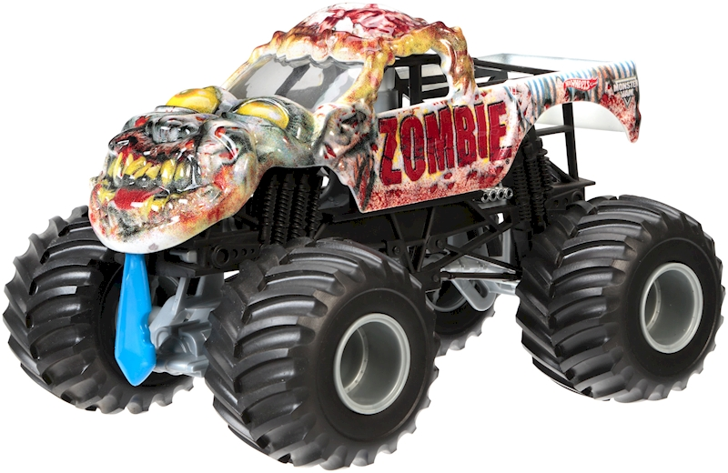 Hot Wheels Monster Jam Zombie Vehicle Shop Hot Wheels Cars