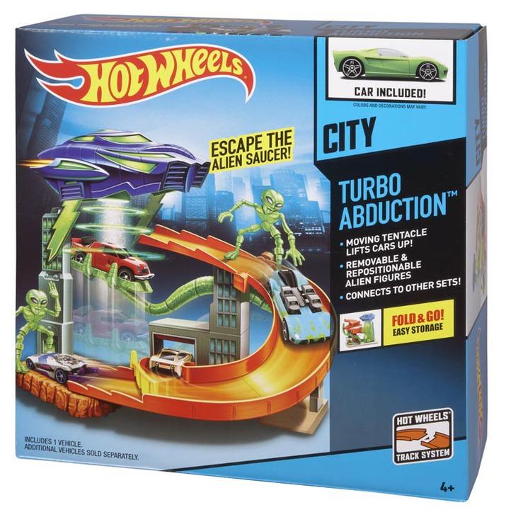 67bf59671ad HOT WHEELS® City Turbo Abduction™ Playset - Shop Hot Wheels Cars ...