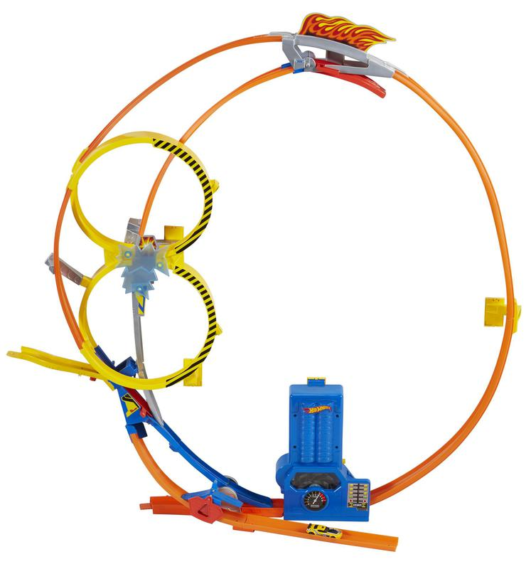 Hot Wheels Super Loop Chase Race Track Set Shop Hot Wheels Cars