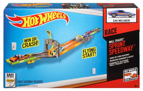 Hot Wheels Wall Tracks Sprint Speedway Shop Hot Wheels Cars