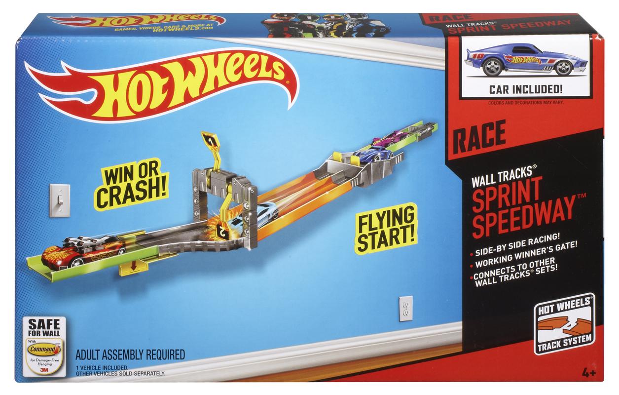 HOT WHEELS® WALL TRACKS® Sprint Speedway™ - Shop Hot Wheels Cars ...