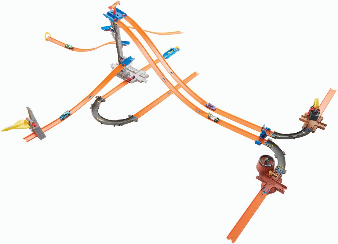 how to make a hot wheels race track