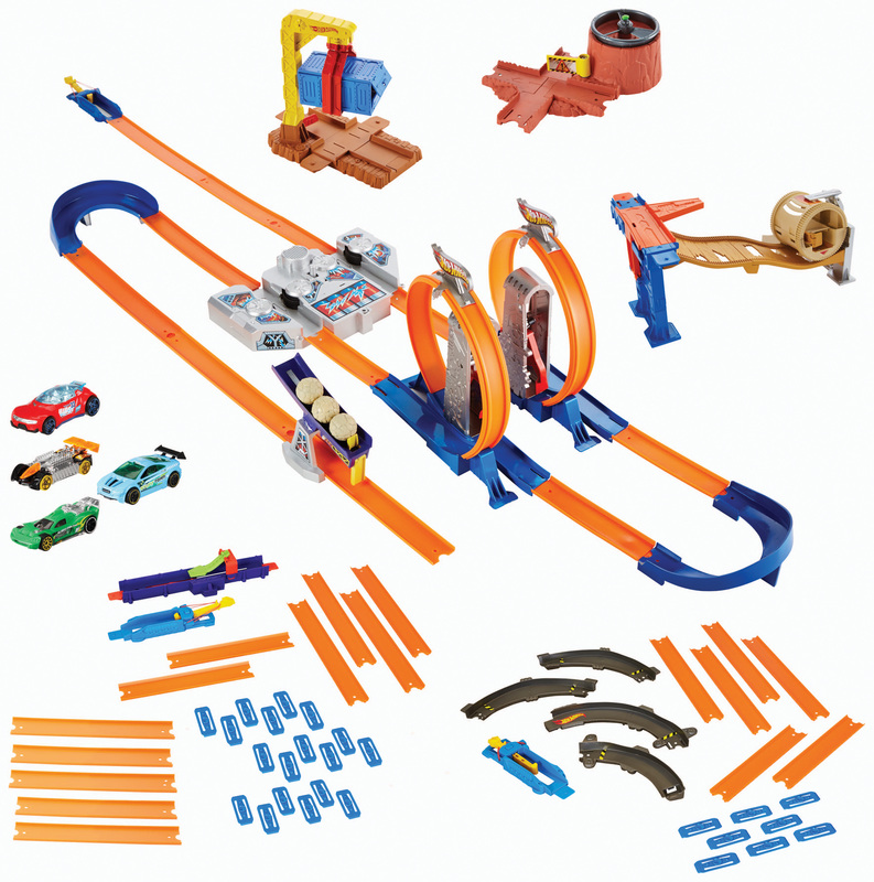 Hot Wheels Track Builder Mega Gift Set Shop Hot Wheels Cars