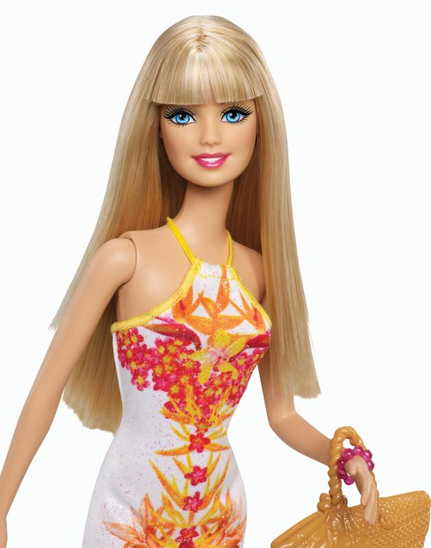 Barbie Fashionistas Doll Tropical Print