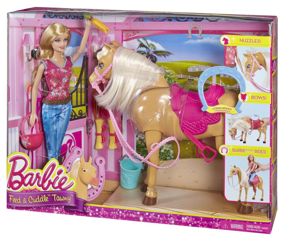 barbie et son cheval tawny. Black Bedroom Furniture Sets. Home Design Ideas