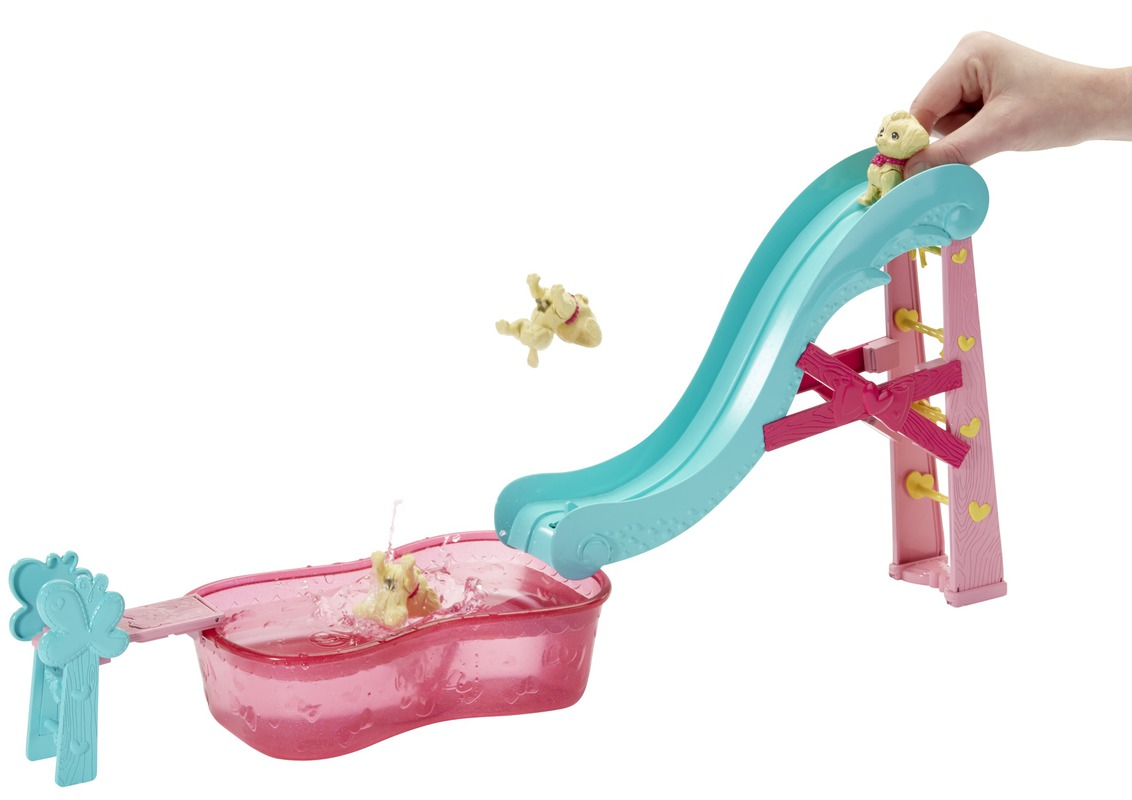 Barbie 174 Chelsea 174 Flippin Pup Pool Play Set