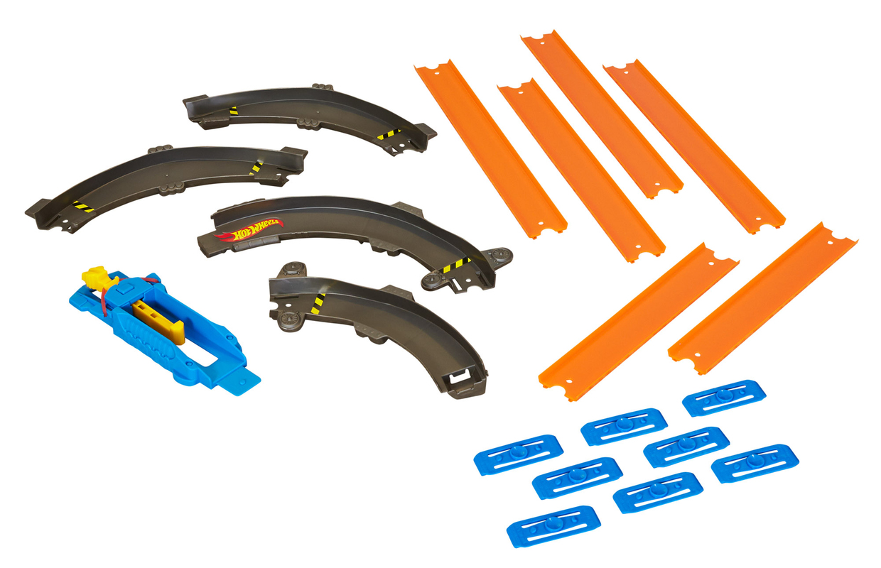 Hot Wheels Track Builder Turn It Curved Track Set F by Hot Wheels