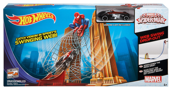speical offer best place biggest discount HOT WHEELS® Marvel Ultimate Spider-Man™ Web Swing Drop-Out ...