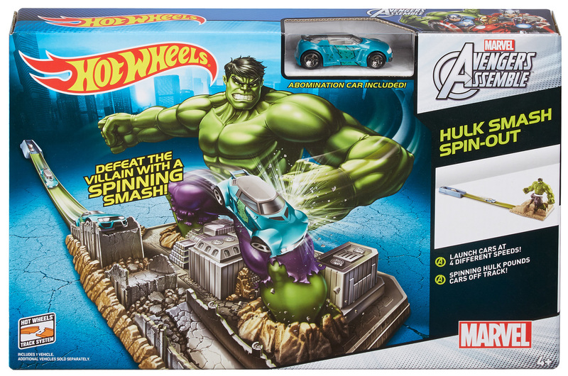 reasonable price beauty various colors HOT WHEELS® Marvel Avengers Assemble™ Hulk Smash Spin-Out ...