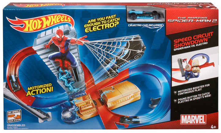 Hot Wheels 174 Marvel The Amazing Spider Man 2 Speed Circuit