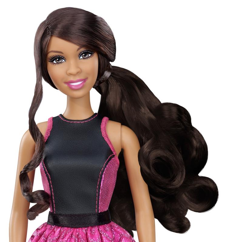 Barbie Endless Curls Doll African American