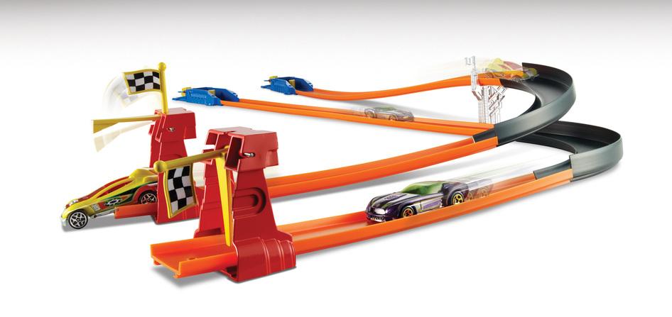 769d75b7814 Hot Wheels® Turbo Race™ Track Set - Shop Hot Wheels Cars
