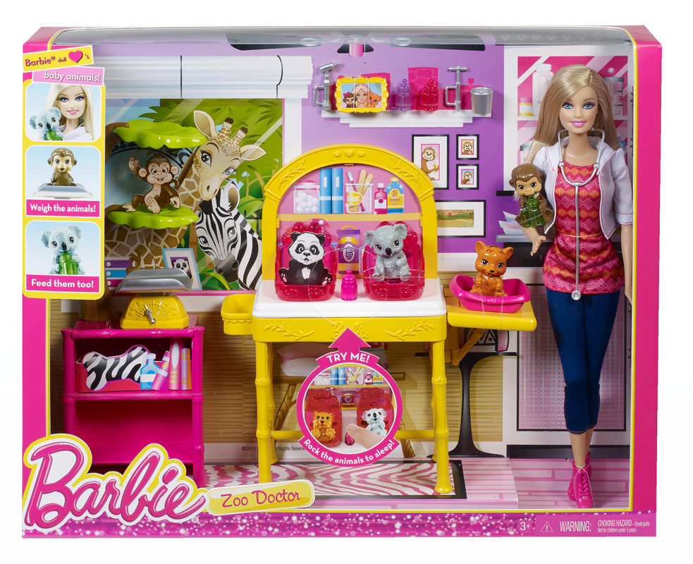 Barbie Career Animal Recue Doll and Play Set