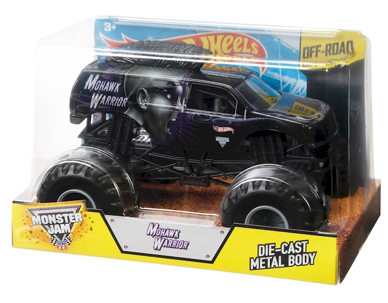 Hot Wheels® Monster Jam® Mohawk Warrior® Vehicle - Shop ...