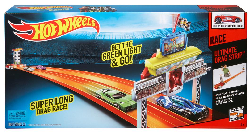 Orange Racing Car Tracks