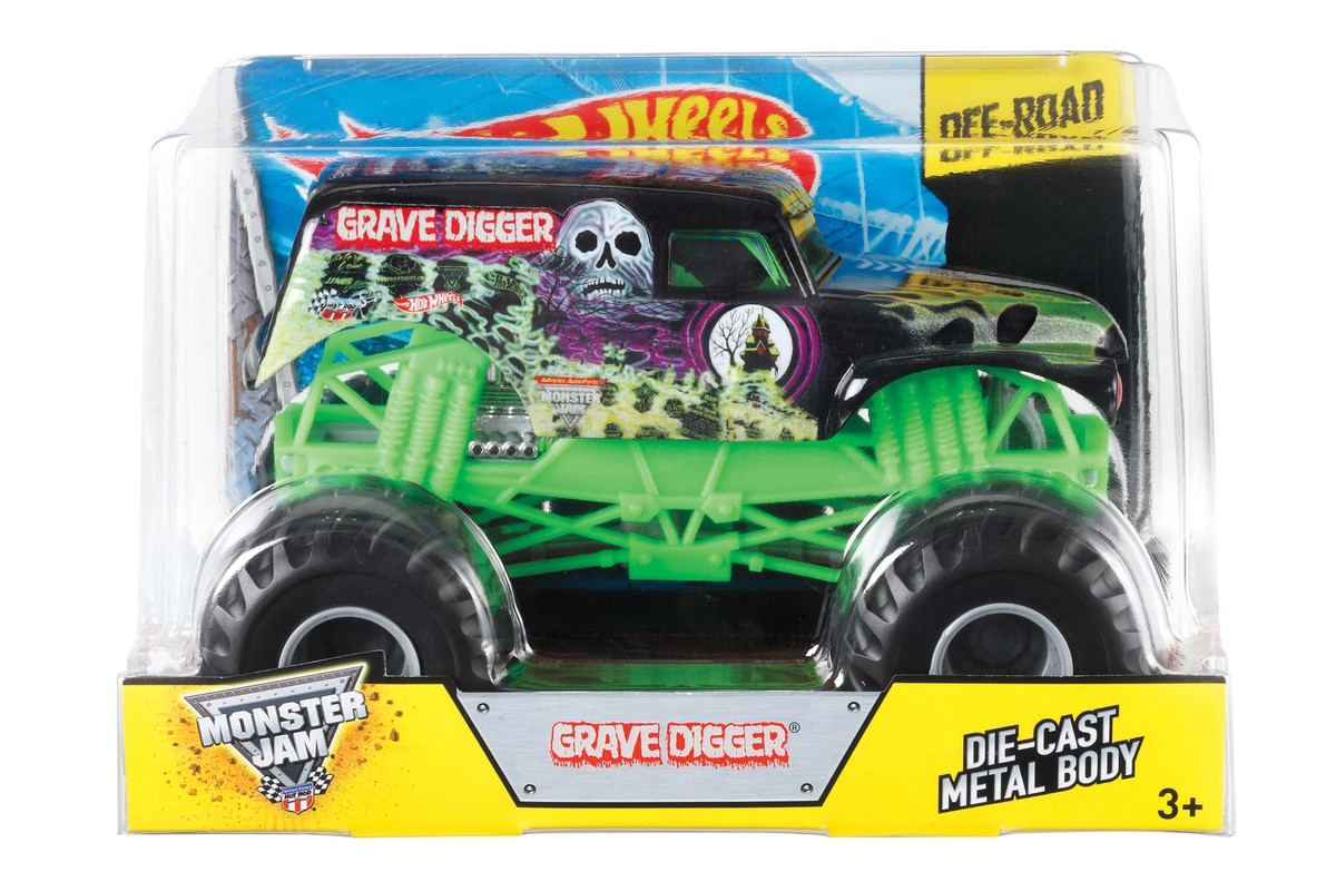 Hot Wheels Monster Jam Grave Digger juguetes Hot Girl Fondos de alta definición-4177