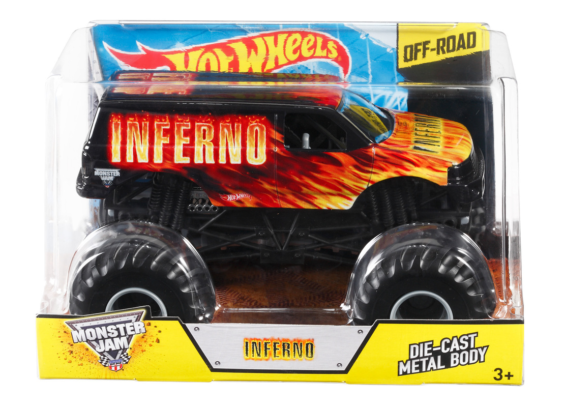 Hot Wheels Monster Jam Inferno 1 24 Die Cast Vehicle Shop Hot