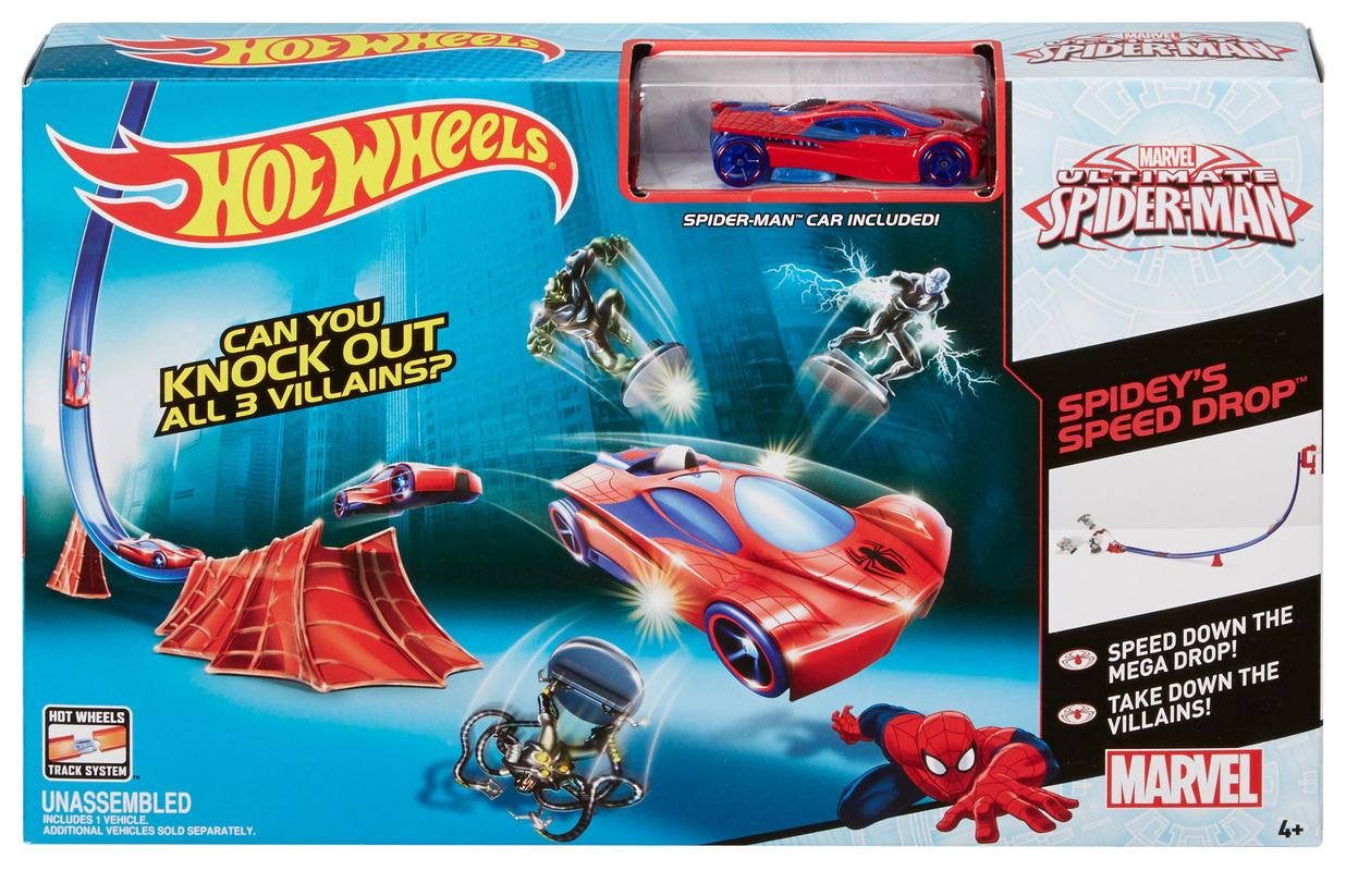pista velocidad de spiderman shop hot wheels cars trucks. Black Bedroom Furniture Sets. Home Design Ideas