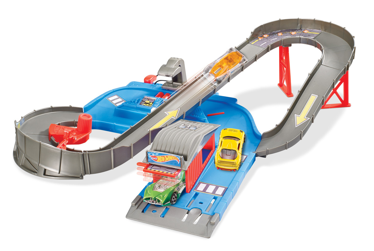 hot wheels city speedway play set shop hot wheels cars trucks race tracks hot wheels. Black Bedroom Furniture Sets. Home Design Ideas