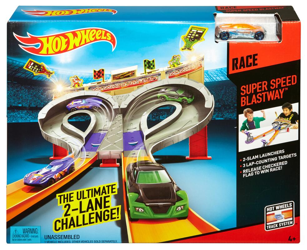 Hot Wheels® Super Speed Blastway™ Track Set