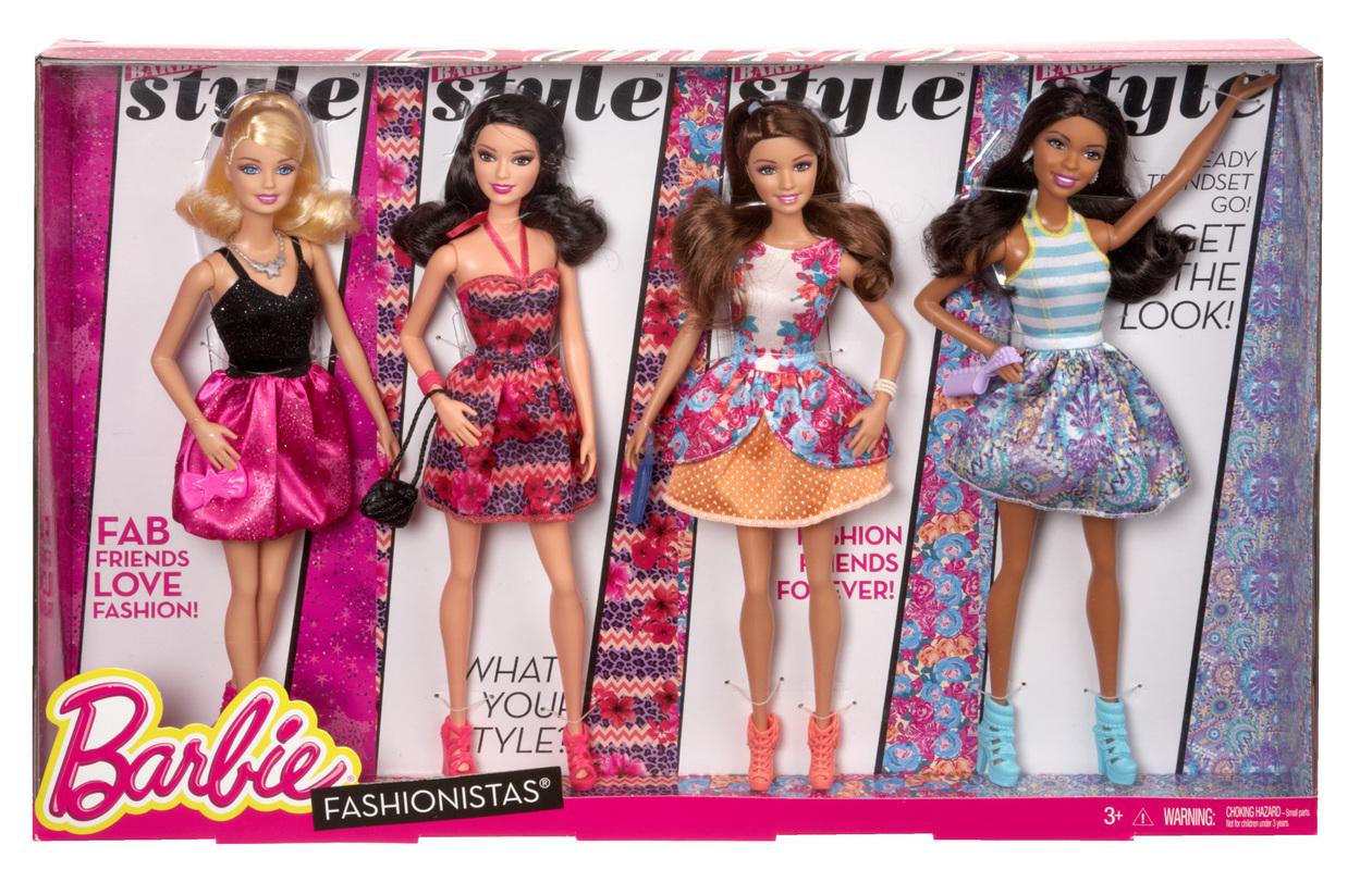 Barbie 174 Amp Friends Fashionistas 174 Gift Set