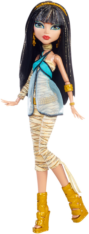 Original Ghouls Collection Cleo De Nile Doll Shop Monster High Doll Accessories Playsets Toys Monster High