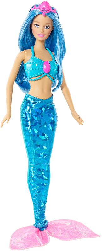 Barbie fairytale mermaid doll blue hair - Barbie barbie sirene ...