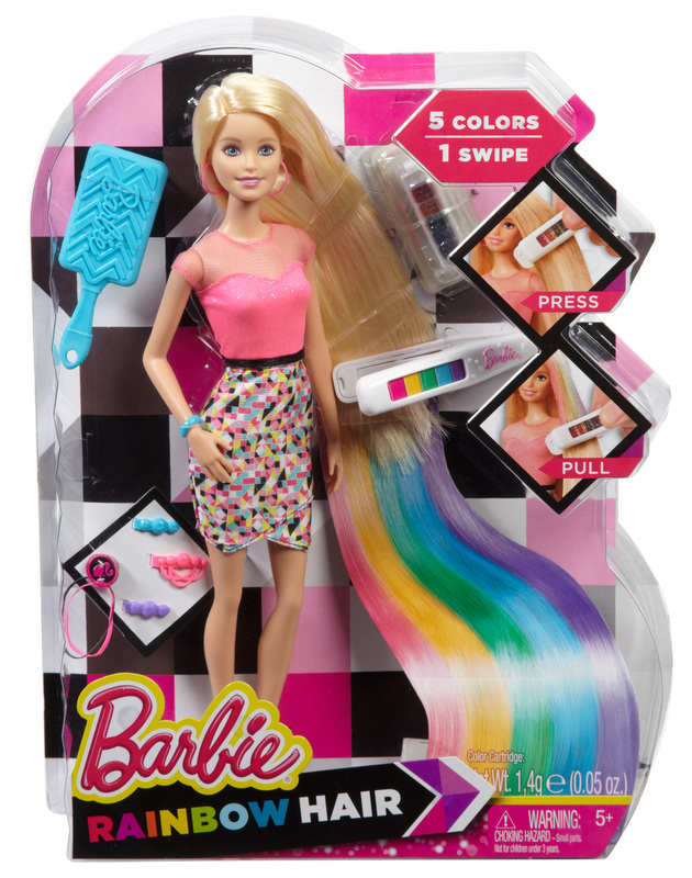 Barbie Regenbogen Haar Barbie