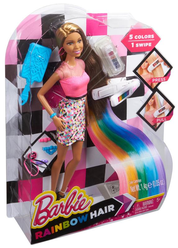 BARBIE® Rainbow Hair - Nikki® Doll