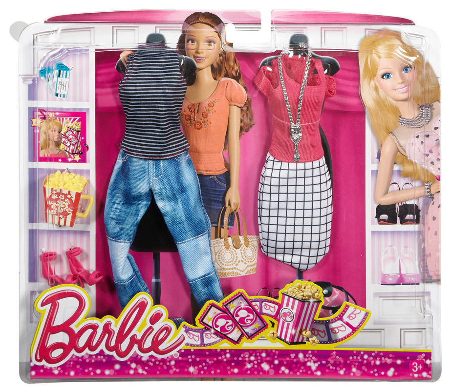 NEW Barbie Fashion Complete Look 2 Pack Fashionista Clothes