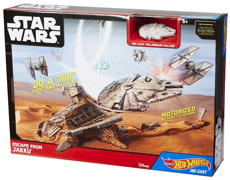 Rc Track Cars >> Hot Wheels® Star Wars™ Escape from Jakku™ Play Set - Shop Hot Wheels Cars, Trucks & Race Tracks ...