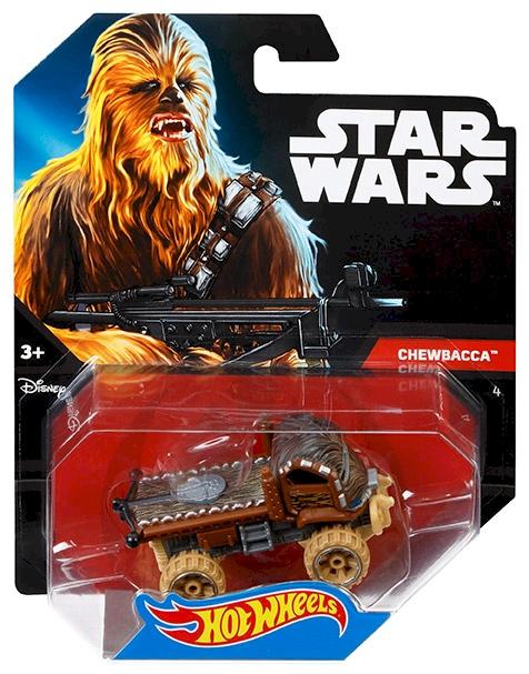 Hot Wheels Star Wars Chewbacca Character Car