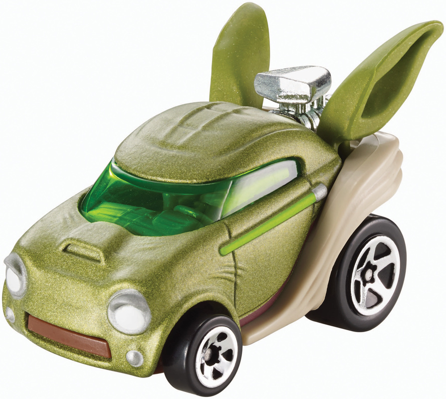 hot wheels star wars yoda character car shop hot wheels cars trucks race tracks hot wheels. Black Bedroom Furniture Sets. Home Design Ideas