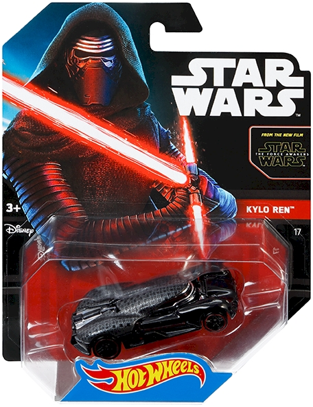 hot wheels star wars kylo ren character car shop hot wheels cars trucks race tracks. Black Bedroom Furniture Sets. Home Design Ideas