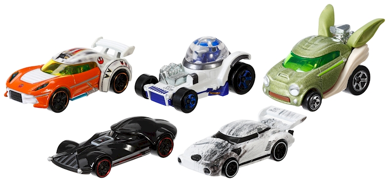 hot wheels star wars wheels 1 64 character car 5 pack shop hot wheels cars trucks race. Black Bedroom Furniture Sets. Home Design Ideas