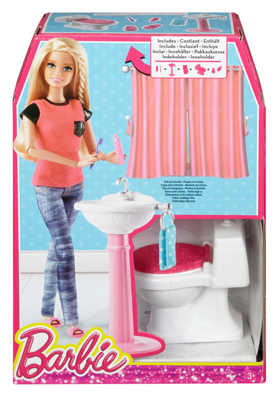 barbie® bathroom set
