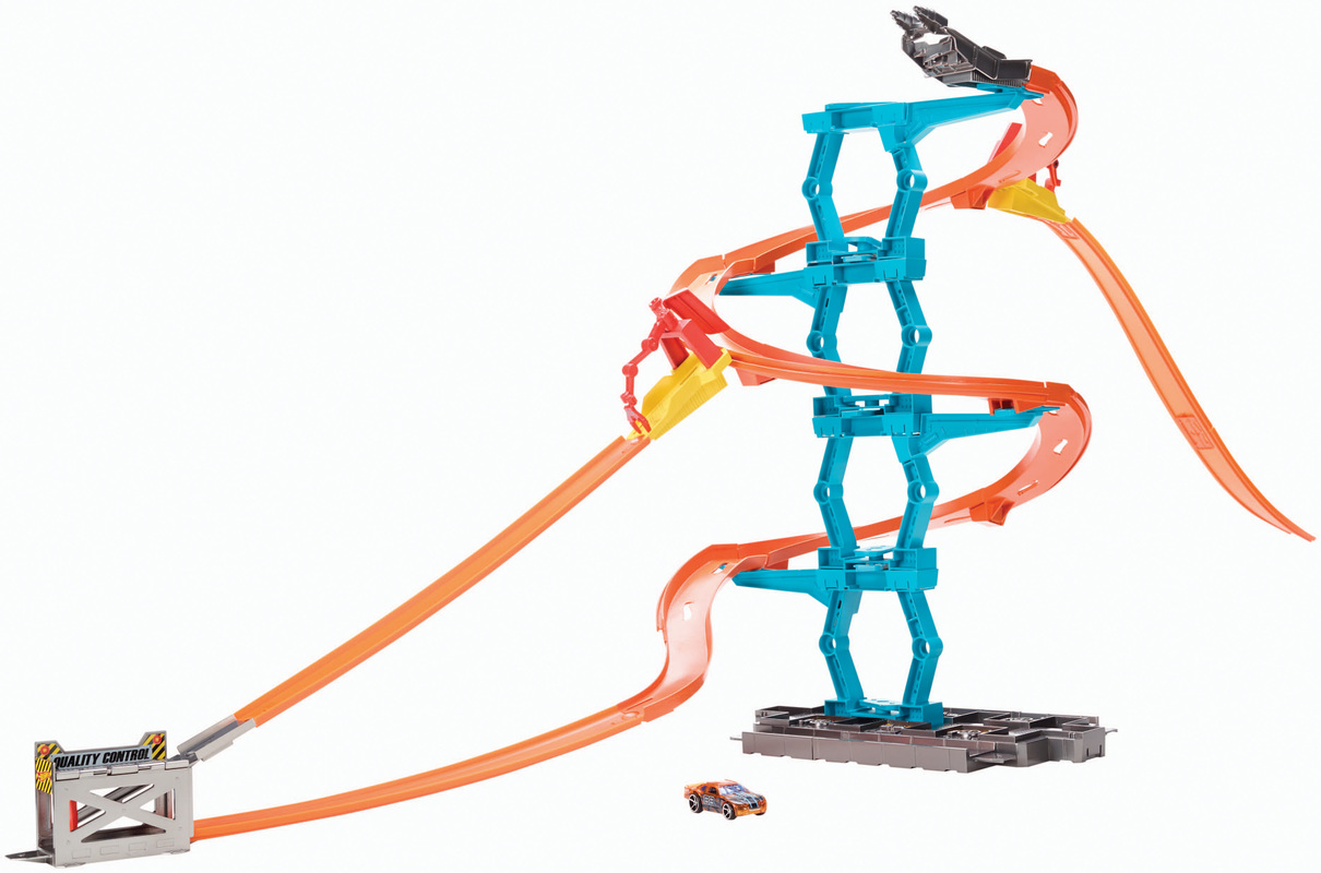 Amazon.com: hot wheels wall track set
