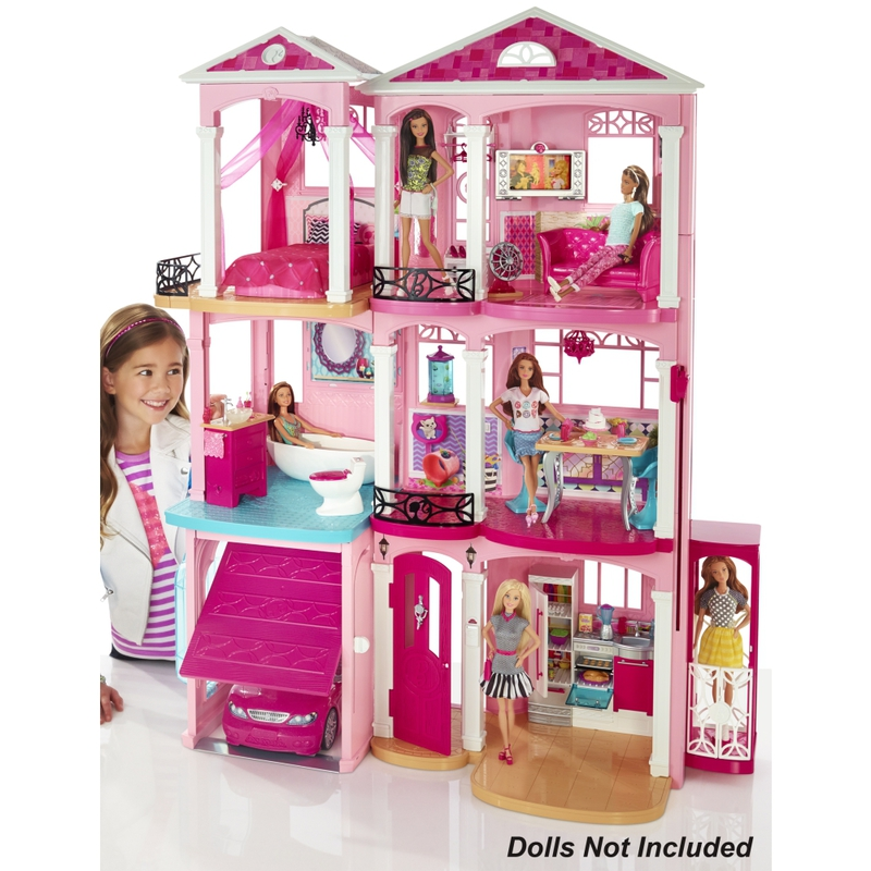 barbie maison de r ve. Black Bedroom Furniture Sets. Home Design Ideas