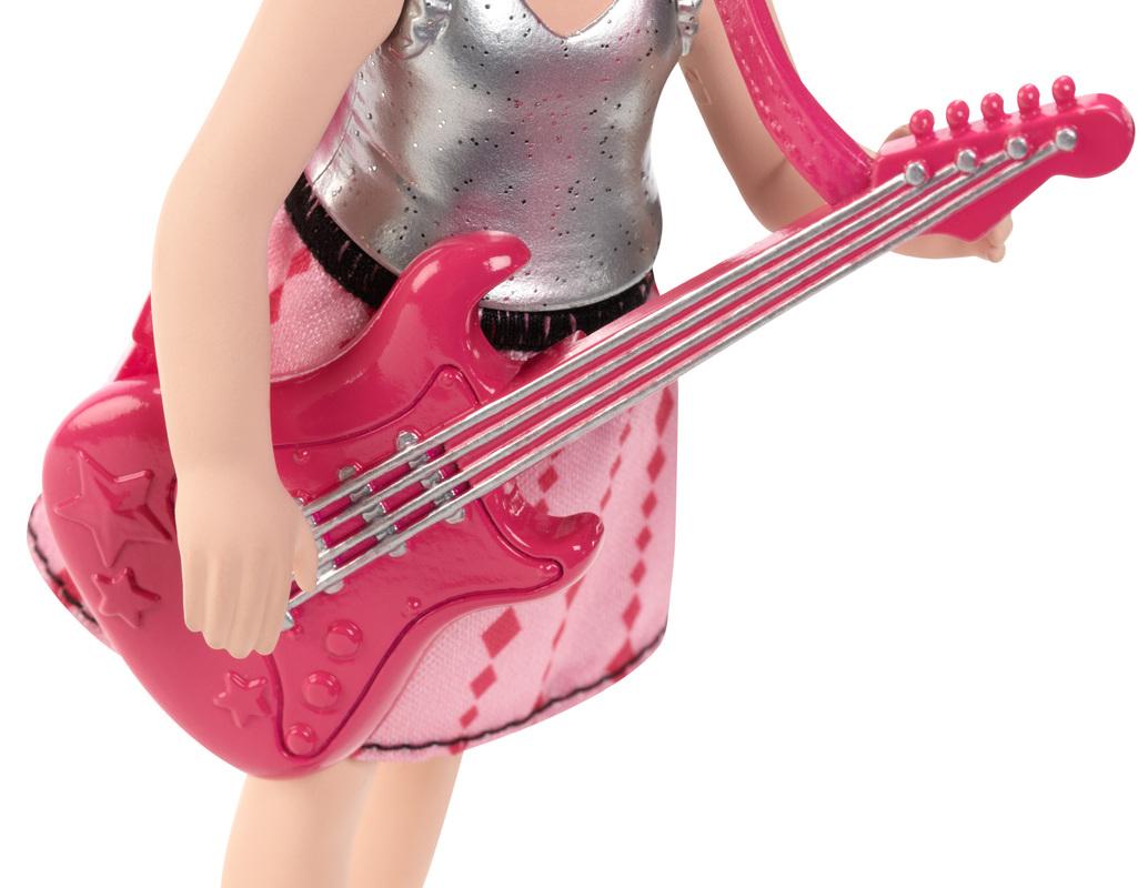 Barbie In Rock N Royals Princess Chelsea Doll With Pink Guitar